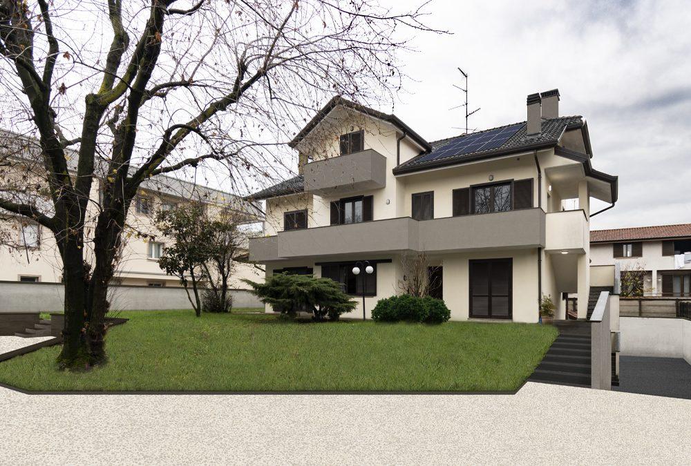Intervento su abitazione trifamiliare a Pregnana Milanese (MI)
