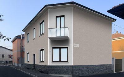 Intervento su intero edificio a Rho (MI), Via Locatelli