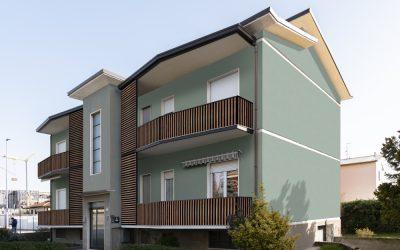 Intervento su condominio di 4 unità a Lainate(MI), Via Monte Bianco
